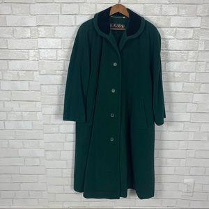 Escalade vintage Margaret Fey trench coat
